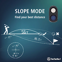 TecTecTec VPRODLXS Slope Mode, adjusts measurements to compensate for slopes