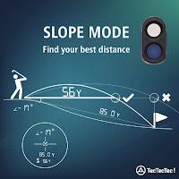 TecTecTec VPRODLXS Slope Mode, adjusts measurements to compensate for slopes