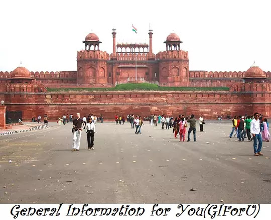 Red Fort- places vidit in delhi-India-GIforU