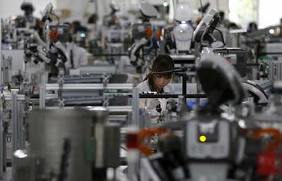 produção das fábricas no Japão