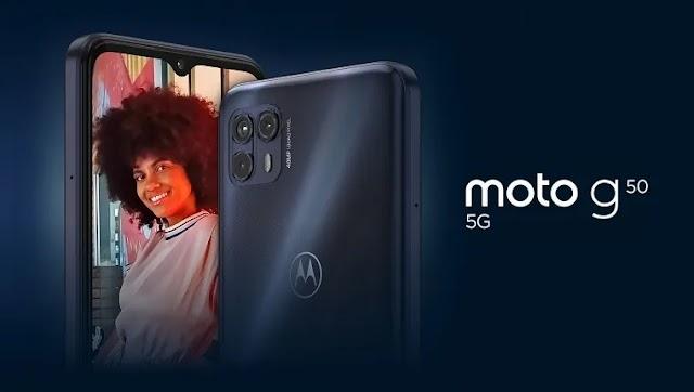 El Moto G50 5G de Motorola es oficial, precio y especificaciones