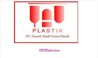 Lowongan Kerja PT Yasunli Abadi Utama Plastic (YAUP) Cibitung Terbaru 2019