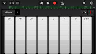 GarageBand Smart Keyboardスクショ