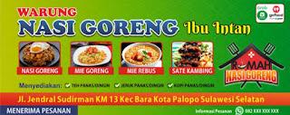 Download Spanduk Nasi Goreng Format CorelDraw