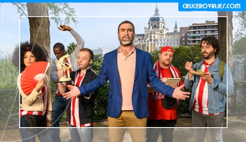 Adiós a los Kebabs, las discotecas y los fritos: Eric Cantona y Hoteles.com enseñan a los aficionados ingleses cómo ser más sofisticados