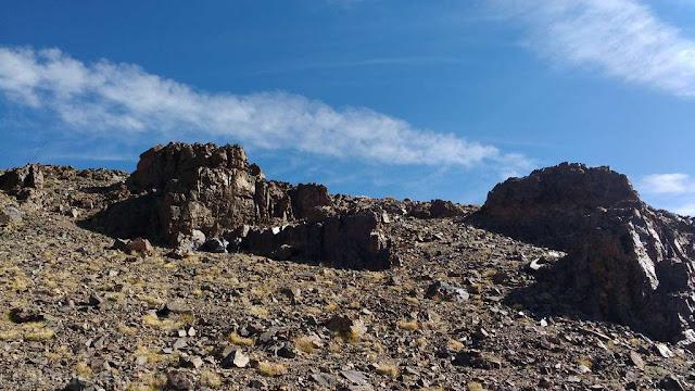 vista, filo, cumbre, cordon, montaña, trekking, salida por dia, ascenso