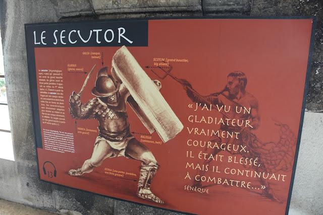 Arena Nimes gladiators