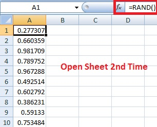 How to use Rand and Randbetween Function in Excel in Hindi