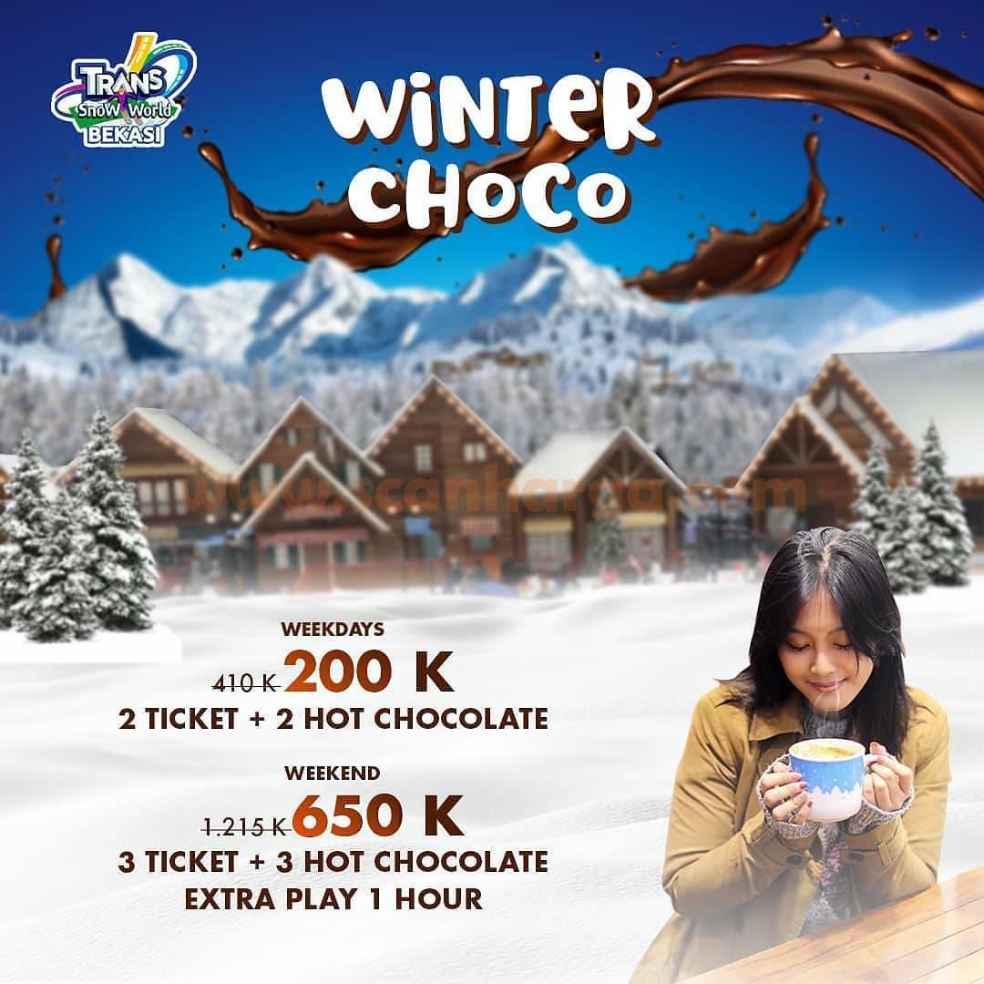 Trans Snow World Bekasi Promo Hot Choco!