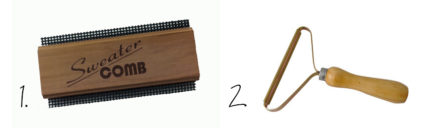 Try a sweater comb to look after your fave knitwear