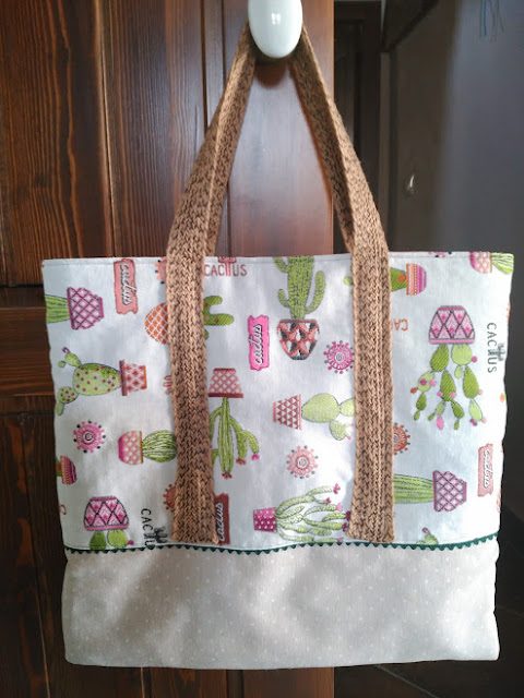 costura, couture, sewing, bolso, bag, tote, neceser, pochette, pouch, cactus