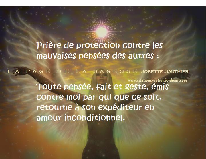 priere de protection
