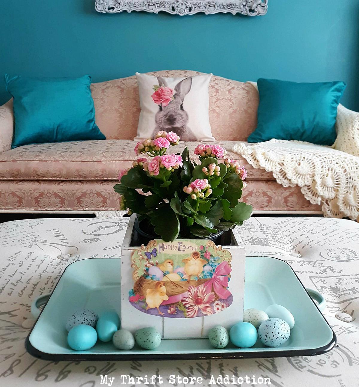 farmhouse centerpieces for spring