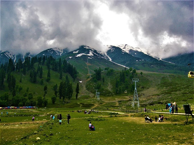 Snowy Cloud at Gulmarg