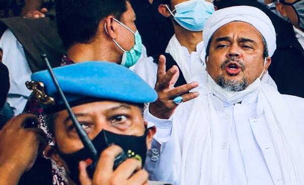 Rizieq Shihab Terjerat Pasar 160 KUHP