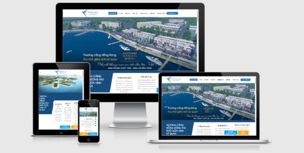 Theme bất động sản WordPress mẫu số 13 – Marina Tuần Châu