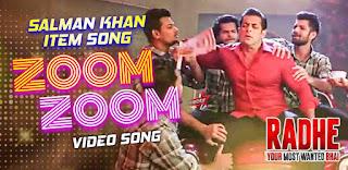 Zoom Zoom Lyrics in English – Radhe   Salman Khan