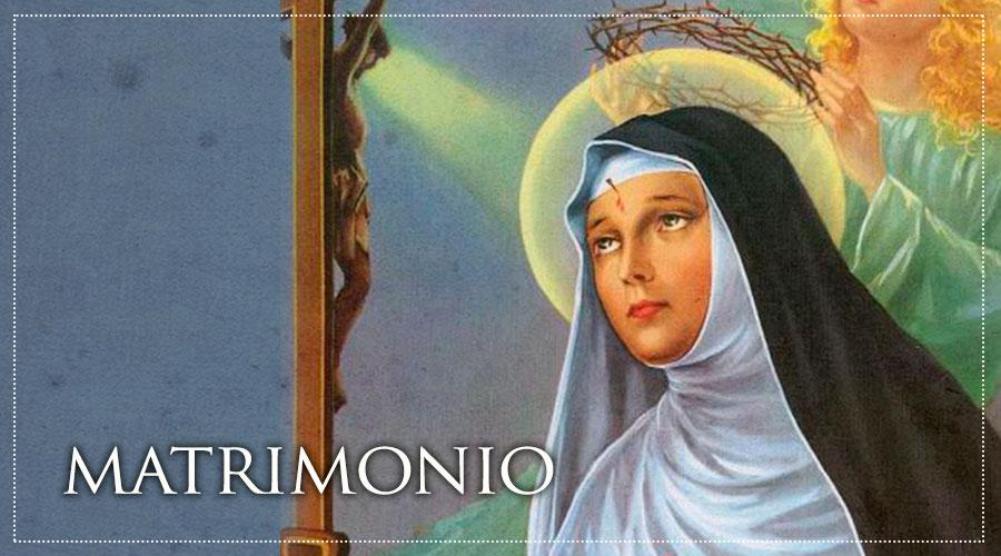 Matrimonio Catolico Con Ateo : Santoral católico santa rita de casia los