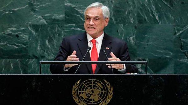 Sebastián Piñera: Debemos proteger la dignidad de todos