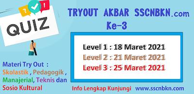 Tryout Akbar Ke-3 SSCNBKN.com