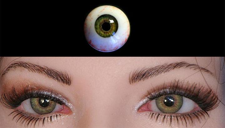 Глаза для резиновой женщины