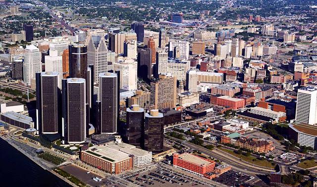 Foto aérea Detroit