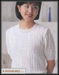 ajurnii uzor spicami вязание toxuculuq knitting حياكة вязанне плетиво