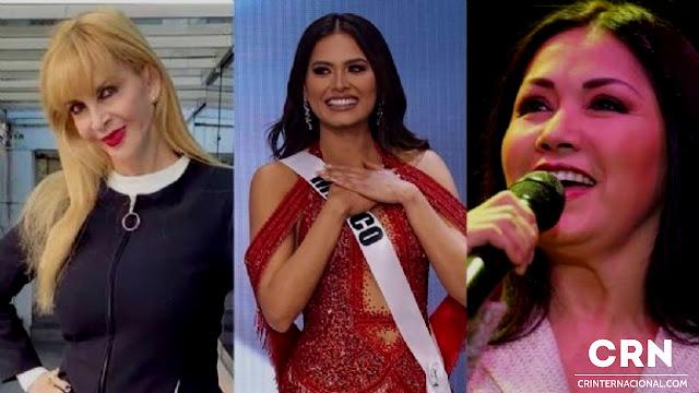 Andrea Meza es hija de Ana Gabriel, pero la regaló