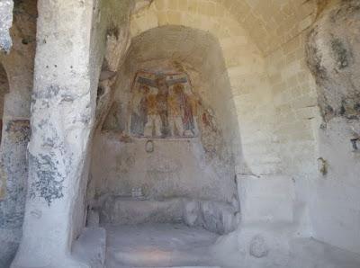 Abside della chiesa di San Nicola dei Greci