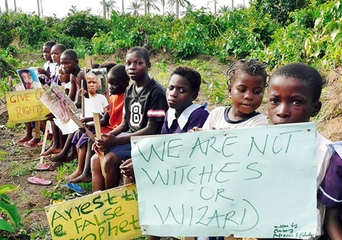 ALERT!!! Ekiti State Kid Witches in Deadly Cult on the Prowl... See Shocking Details