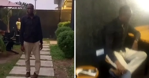 Video: NOTORIOUS WANTED physically-challenged thief finally caught in Lagos