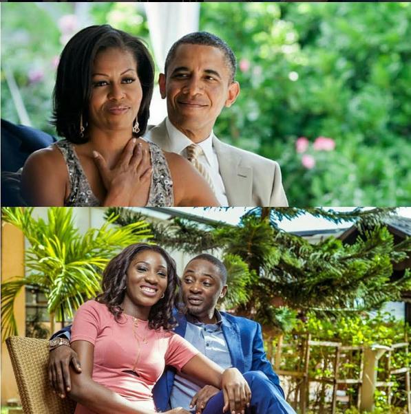 Nigerian Couple Imitate Barack Obama & Wife Michelle For