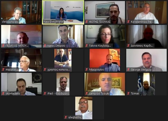 Θεσπρωτία: Τηλεδιάσκεψη Λάμπρου με Χρυσοχοΐδη για θέματα που αφορούν και την Θεσπρωτία