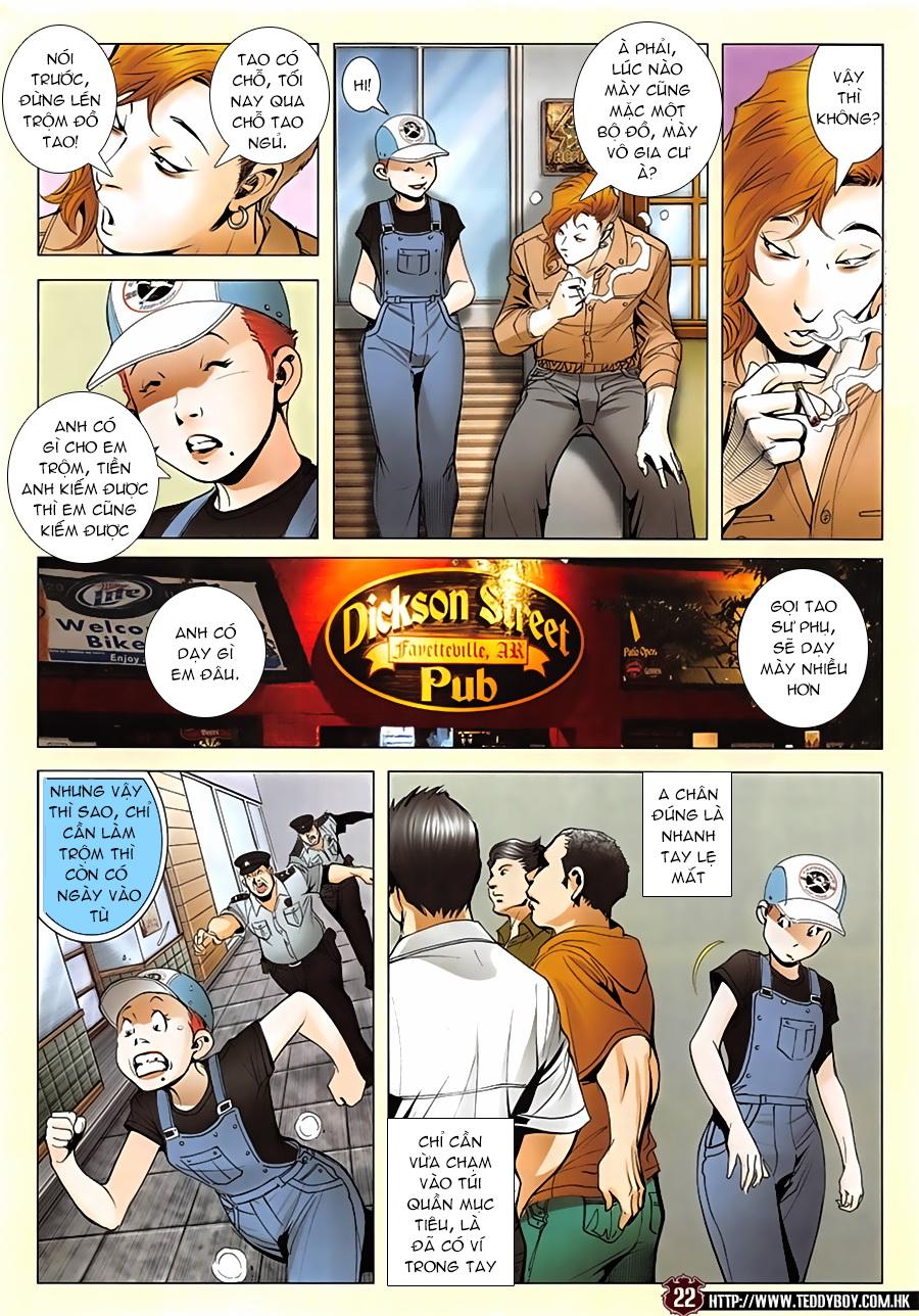 Người Trong Giang Hồ chapter 1952: a chí và a chân trang 21
