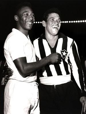 Garrincha e Pelé, o aniversário de 50 anos do último jogo dos 2 gênios pela Seleção