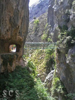 Puente de los Rebecos (Ruta del Cares desde Caín, Léon) by Susana Cabeza