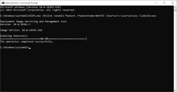 Mudah Mengaktifkan .NET Framework 3.5 Di Windows 10 Offline Terbaru