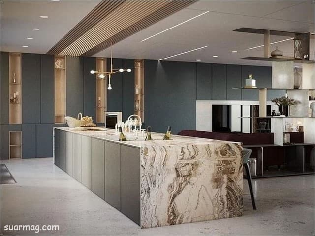 جبس بورد مطابخ 5   Kitchen Gypsum Designs 5