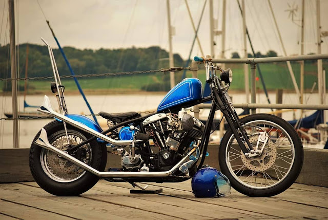 Harley Davidson Shovelhead By So Low Choppers Hell Kustom