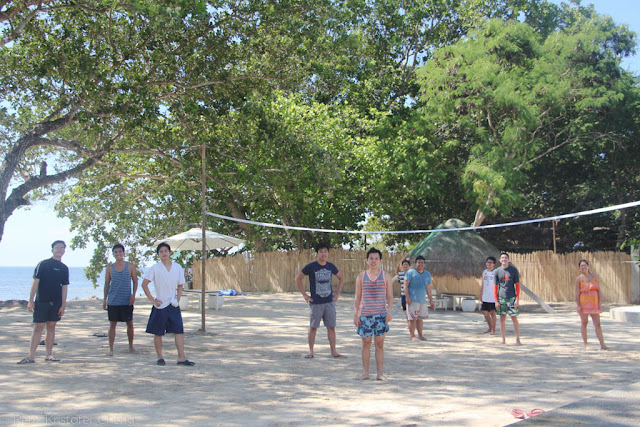 FSRM Beach Volleyball - Blue Palawan - Outing 2015