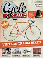 Cycle classic, la presse allemande sur les vélos vintage