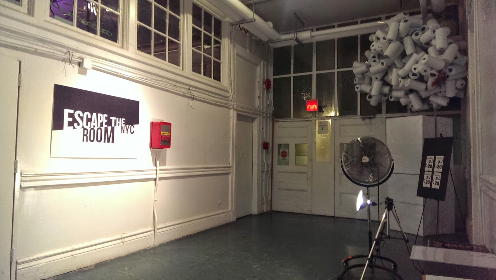 Escape The Room Nyc Downtown Game Photos Inside Look