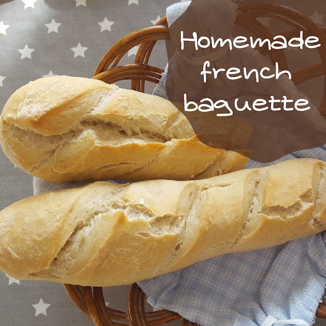 Homemade french baguette - recipe