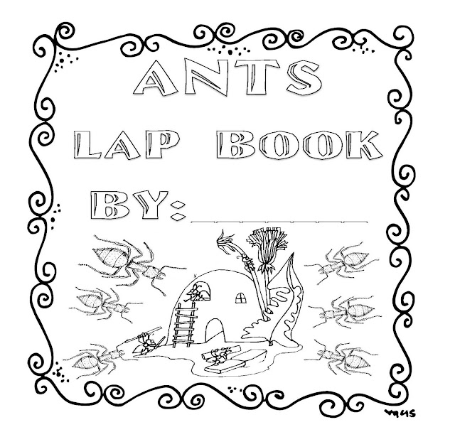 The Hermit Crabs Homeschool: Ants Lap Book