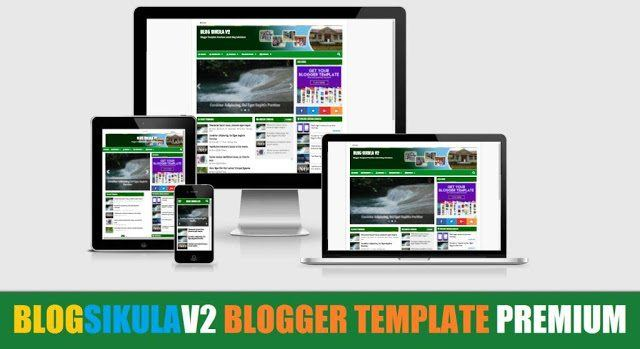 Blog Sikula V2 Blogger Template Premium