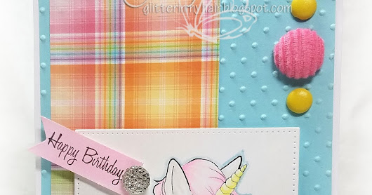 Oddball Art Stamps - July FB Challenge & Unicorn Re-release!