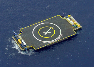 Space X landing barge - Just Read The Instructions
