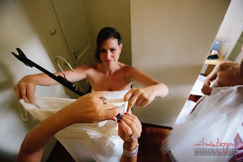 preparazione sposa matrimonio relais monastero