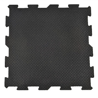 Greatmats Sundance rubber tile mats interlocking for dogs
