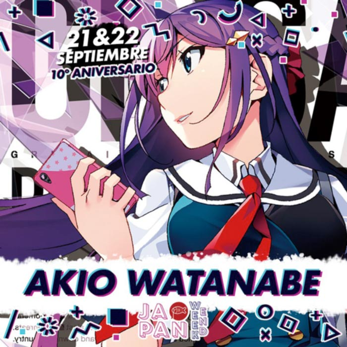Akio Watanabe en Japan Weekend Madrid 2019